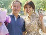 Hari Won bật khóc khi hội ngộ thầy giáo cũ tại Hàn Quốc