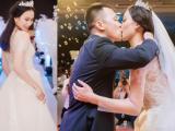 Á hậu Đại dương Vân Quỳnh diện váy 400 triệu trong tiệc cưới