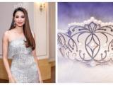 Phạm Hương xuýt xoa trước chiếc vương miện 2,7 tỷ của người kế vị Hoa hậu Hoàn vũ 2017