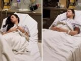 Nhật Kim Anh bị bệnh nằm liệt giường phải đi cấp cứu ở Mỹ