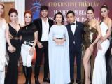 Mỹ nam làng giải trí Việt tụ hội chúc mừng CEO, Hoa hậu Kristine Thảo Lâm