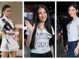 Hoàng Yến đọ sắc cùng 10 nhan sắc đầu tiên lọt vào bán kết Top 70 Hoa hậu Hoàn vũ Việt Nam 2017