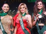 Hà Thu giành huy chương đồng phần thi trang phục dạ hội ở Miss Earth