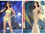 Huyền My rực rỡ và quyến rũ trong trang phục dạ hội và bikini tại bán kết Miss Grand International 2017
