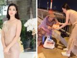 Tin sao Việt 25/11/2017: Tiêu chí chọn bạn trai của Đỗ Mỹ Linh, Angela Phương Trinh giản dị đi làm từ thiện