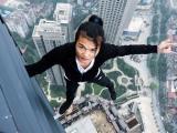 Trước khi chết, diễn viên Trung Quốc từng thách thức ở độ cao khó tin