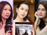 Lưu Hương Giang và loạt sao Việt 'bủn rủn' trước thông tin cháy chung cư cao cấp ở Sài Gòn