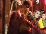 """Con gái Michael Jackson công khai """"khóa môi"""" siêu mẫu lưỡng tính"""