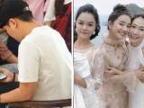 Trường Giang buồn bã xem clip Nam Em tặng bánh và hoa, Nhã Phương vui vẻ đi dự show thời trang