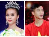 Tân Hoa hậu biển Việt Nam toàn cầu 2018 công khai 'thả thính' cầu thủ Phan Văn Đức?