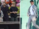 Angelina Jolie ăn mặc xuề xòa, đưa các con đi chơi ở Anh sau mâu thuẫn với Brad Pitt chuyện con cái