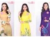 Top 30 Chung khảo phía Nam Hoa hậu Việt Nam 2018 khoe sắc trong bộ ảnh áo dài