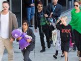 Brad Pitt đón Ngày của cha ở London cùng các con nhờ thỏa thuận mới với Jolie