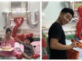 Vừa ra viện sau sinh, Khánh Thi đã tổ chức sinh nhật cho ông xã Phan Hiển cực yêu
