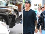 Justin Bieber gặp tai nạn xe hơi trước buổi hẹn hò với chân dài Hailey Baldwin