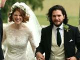 Đám cưới lãng mạn của cặp đôi phim giả tình thật trong 'Trò chơi vương quyền' tại Scotland