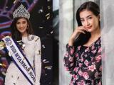 Ca sĩ kiêm người mẫu biết 4 thứ tiếng đăng quang Hoa hậu Thế giới Myanmar 2018