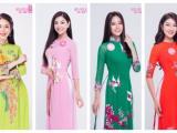 Sát đêm thi quan trọng, Hoa hậu Việt Nam tung bộ ảnh áo dài truyền thống của 38 thí sinh