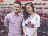Trước ngày cưới tình cũ, Văn Mai Hương vẫn đẹp hết phần người khác dù chỉ đi xem bóng rổ