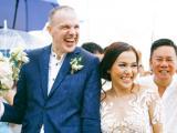 Khoảnh khắc đẹp giờ mới lộ của Lý Thanh Thảo và chồng Tây trong đám cưới tại Việt Nam