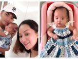 Con gái ngày càng giống Phan Hiển, Khánh Thi dở khóc dở cười khi bị trêu 'đẻ thuê'