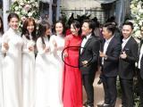 Đám cưới Trường Giang - Nhã Phương: Cô dâu Nhã Phương lộ bụng to trong lễ thành hôn