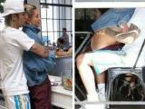 """Justin Bieber và Hailey Baldwin lộ cảnh ôm ấp """"nhạy cảm"""" trong khi Selena Gomez đi điều trị tâm thần"""