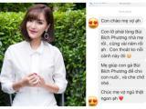 Khoe tin nhắn trai lạ xin cưới con gái, mẹ Bích Phương để lộ cả danh tính người yêu cũ của nữ ca sĩ