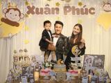 Vợ chồng Kỳ Hân - Mạc Hồng Quân tổ chức sinh nhật 2 tuổi cho con trai
