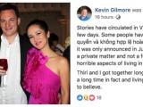 Trước tin đồn ly hôn vì người thứ ba, chồng cũ diva Hồng Nhung chính thức lên tiếng
