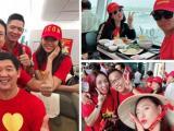 Loạt sao Việt đổ bộ sang Malaysia cổ vũ cho đội tuyển Việt Nam trước trận chung kết lượt đi AFF Cup