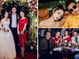 'Quỳnh búp bê' Phương Oanh, Bảo Thanh... tới tham dự đám cưới của diễn viên Bùi Thanh Lê