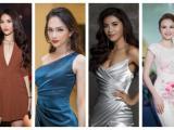 Dàn Hoa hậu, Á hậu tưng bừng chúc mừng thành tích top 5 của H'Hen Niê