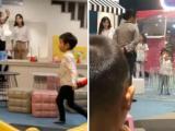 Sau bê bối hút thuốc, Angelababy đóng vai bà mẹ tốt đưa con trai đi chơi nhưng Huỳnh Hiểu Minh vẫn lặn mất tăm