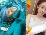 Bộ đôi MC VTV 'rủ nhau' nhập viện: Đức Bảo mổ dây chằng, Thùy Linh ngã gãy tay