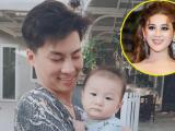 Lâm Khánh Chi không thể giữ lời, hạnh phúc khoe ảnh con trai vì quá đáng yêu