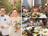 Loạt sao Việt chia sẻ cảm xúc 'vui như Tết' khi dự đám cưới của NSND Trung Hiếu ở Hà Nội
