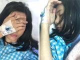 Cát Phượng nằm bất tỉnh trong phòng cấp cứu của bệnh viện, sức khỏe vẫn chưa ổn
