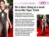 Màn xuất hiện của Ngọc Trinh tại Cannes 2019 được tờ báo uy tín nhất nước Anh đưa tin và đây là phản ứng từ cư dân mạng
