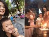 Thu Quỳnh và Chí Nhân tái hợp trong ngày sinh nhật con trai nhưng tránh chụp ảnh chung?