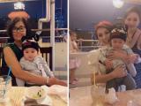 Khoe con trai đáng yêu, Lâm Khánh Chi nhắn nhủ: 'lớn lên mẹ đầu tư cho con tới bến luôn'