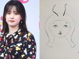 Xót xa khi phát hiện bức ảnh tự hoạ 5 tháng trước của Goo Hye Sun: Tôi bị xỏ mũi và cắm sừng