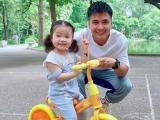 Mạnh Quân khoe con gái 2 tuổi đáng yêu, xinh xắn như búp bê