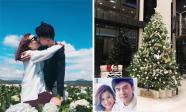 Tin sao Việt ngày 18/12/2017: Lê Thúy ngọt ngào hôn chồng, bà xã Đan Trường khoe không gian Noel trong biệt thự ở Mỹ