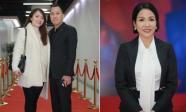 Ca sĩ Nhật Thủy cùng ông xã đến chúc mừng Diva Mỹ Linh ra mắt album mới