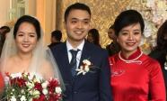 Con gái của nghệ sĩ Chiều Xuân rạng rỡ trong đám cưới