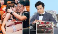 Tin sao Việt 27/4/2018: Diệp Lâm Anh khoe nhẫn đính hôn nạm đầy kim cương, phản ứng bất ngờ của Quách Tuấn Du khi có xe đâm vào ô tô mình