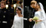 Đám cưới Hoàng tử Harry: Cô dâu và chú rể trao nhau nụ hôn, chính thức trở thành vợ chồng