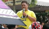 Tham gia làm MC chương trình Tổng kết năm học của một trường THPT, Minh Béo hứng 'gạch đá' từ dư luận
