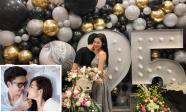 Á hậu Tú Anh khoe ảnh đón sinh nhật bên chồng sắp cưới cùng lời tâm sự: 'Tự cảm thấy bản thân mình quá may mắn'